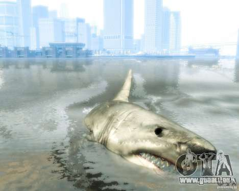 Megalodon für GTA 4 linke Ansicht