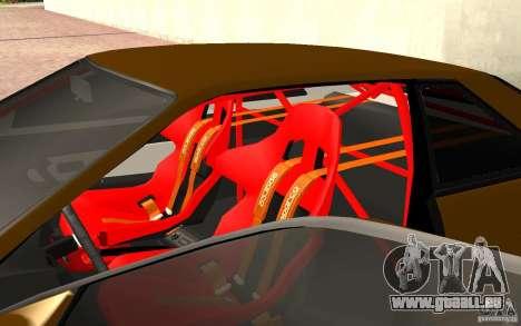 Nissan Silvia S13 Crash Construction pour GTA San Andreas vue arrière