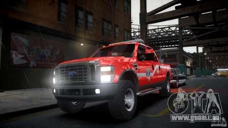 Ford Chief F250 pour GTA 4 est un droit