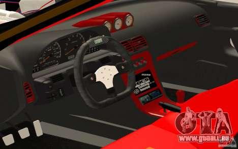 Nissan Silvia S13 Crash Construction pour GTA San Andreas vue de droite