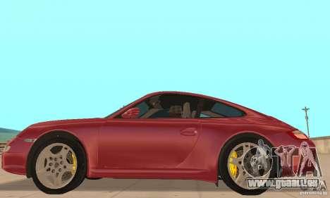 Porsche 911 (997) Carrera S v1.1 pour GTA San Andreas laissé vue