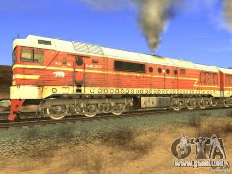 Mod de chemin de fer pour GTA San Andreas huitième écran