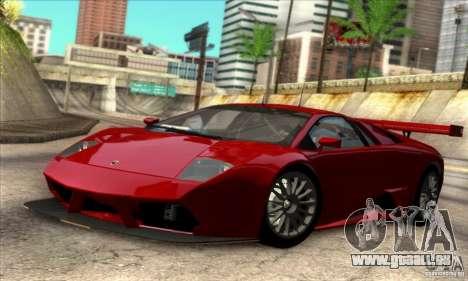 Lamborghini Murcielago R-SV GT1 für GTA San Andreas