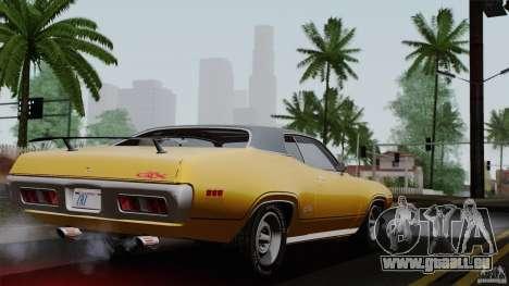 Plymouth GTX 426 HEMI 1971 für GTA San Andreas linke Ansicht