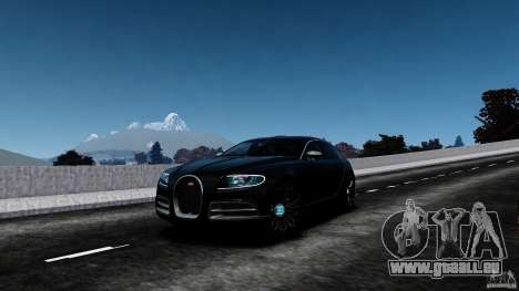 Bugatti Galibier 2009 für GTA 4 Innen