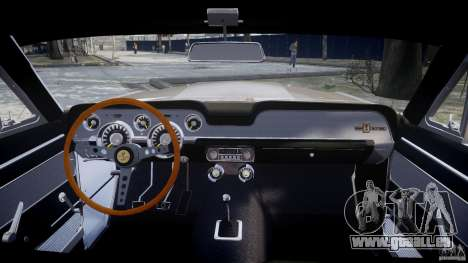 Shelby GT500 1967 pour GTA 4 est un droit