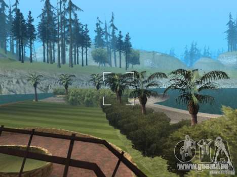 Insel-Villa für GTA San Andreas her Screenshot