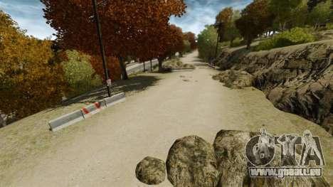 Piste de rallye pour GTA 4 secondes d'écran