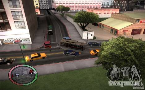 Clever Trams pour GTA San Andreas