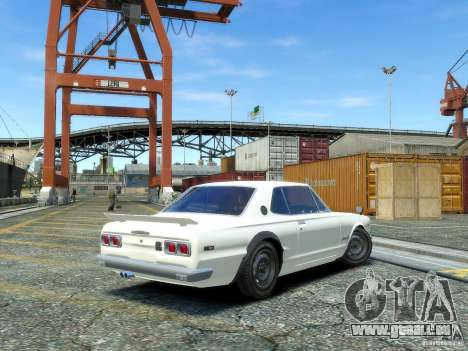 Nissan Skyline 2000 GTR für GTA 4 linke Ansicht