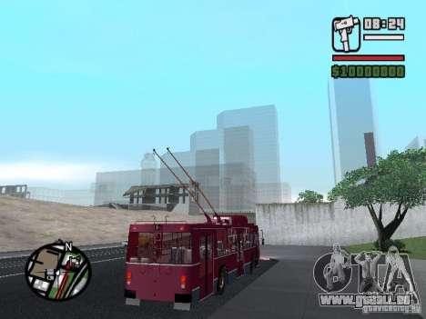 ZIU 682GM 1 pour GTA San Andreas vue de côté