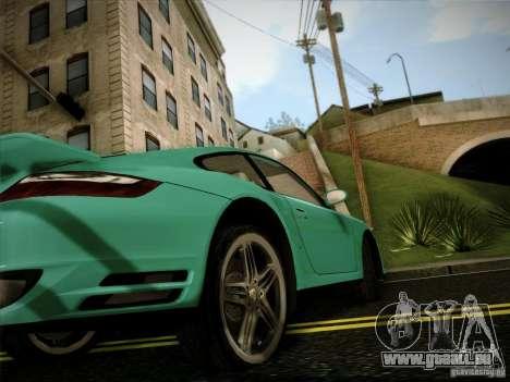 Porsche 911 (997) turbo für GTA San Andreas rechten Ansicht