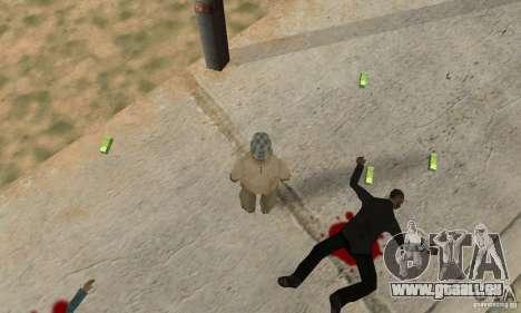G ukrainien pour GTA San Andreas deuxième écran