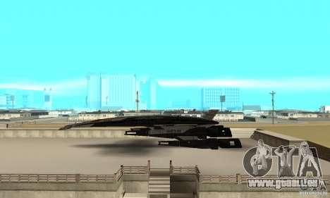 S.S.V. NORMANDY-SR 2 pour GTA San Andreas laissé vue