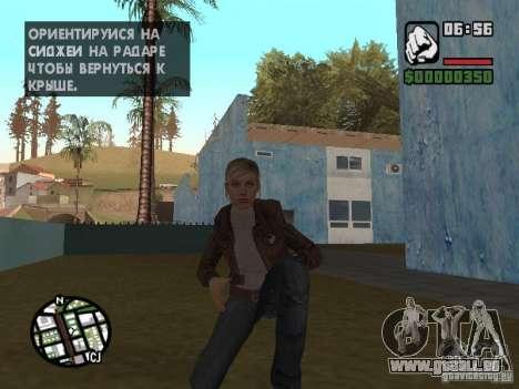 Lucy Stillman in Assassins Creed Brotherhood für GTA San Andreas fünften Screenshot