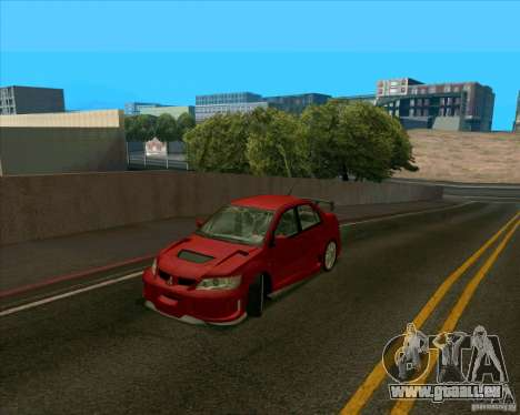 Mitsubishi Lancer Evolution 8 MostWanted für GTA San Andreas linke Ansicht