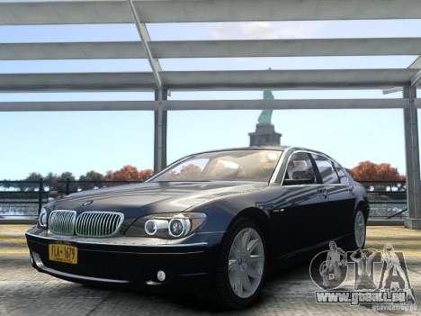 BMW 7 Series E66 2011 für GTA 4