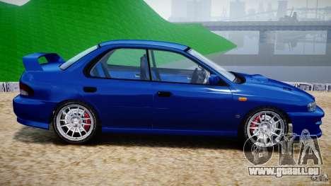 Subaru Impreza WRX STI 1999 v1.0 pour GTA 4 est une gauche