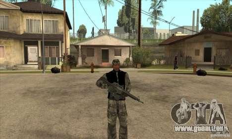 Vêtements de camouflage pour GTA San Andreas