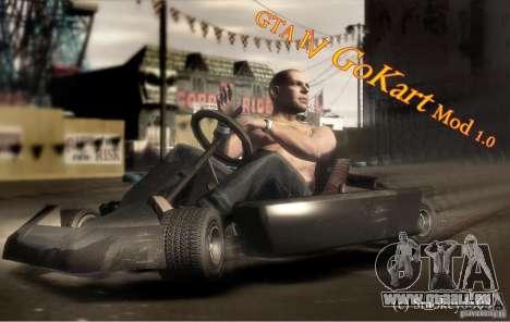 GoKart Mod 1.0 pour GTA 4