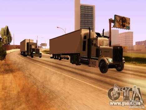 Western Star 4900 für GTA San Andreas Seitenansicht