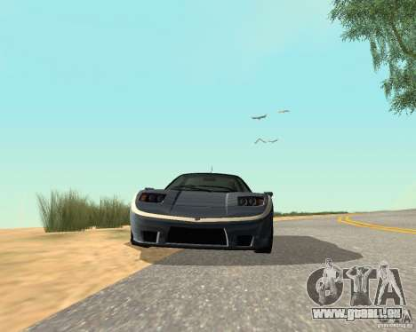 Soquette von GTA 4 für GTA San Andreas Rückansicht