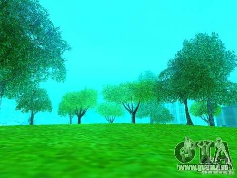 Neue Farbe-Mod für GTA San Andreas