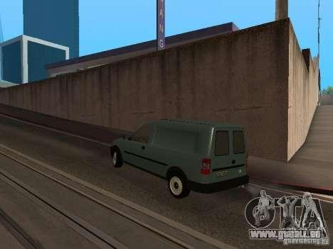 Opel Combo 2005 für GTA San Andreas zurück linke Ansicht