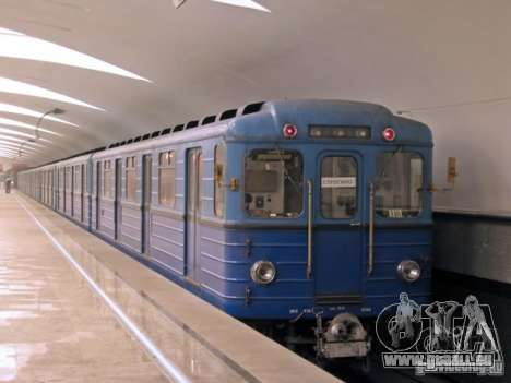 Metro e für GTA San Andreas obere Ansicht