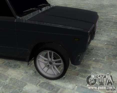 VAZ 2107 Drift Enablet Editional i3 pour GTA San Andreas sur la vue arrière gauche