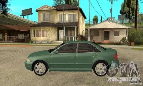 Audi S4 2000 pour GTA San Andreas laissé vue