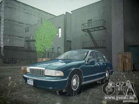 Chevrolet Caprice 1993 Rims 2 pour GTA 4