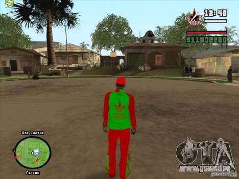 Vollständiger Ersatz der Binco Store Adidas für GTA San Andreas zwölften Screenshot