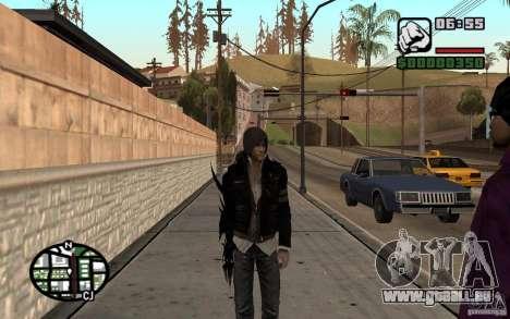 Alex Mercer für GTA San Andreas