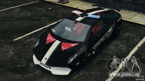 Lamborghini Sesto Elemento 2011 Police v1.0 ELS für GTA 4