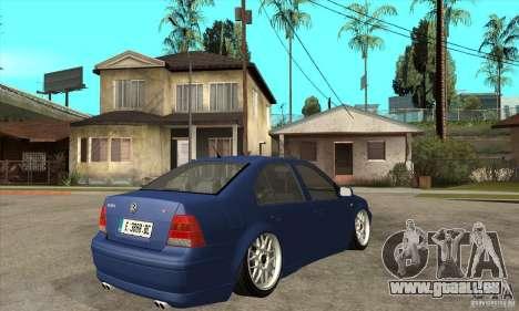 VW Bora VR6 Street Style für GTA San Andreas rechten Ansicht