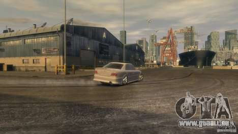 Toyota Chaser 2.5 Tourer V pour GTA 4 Vue arrière