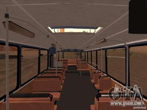 MAN SL200 Exclusive v.1.00 für GTA San Andreas Unteransicht