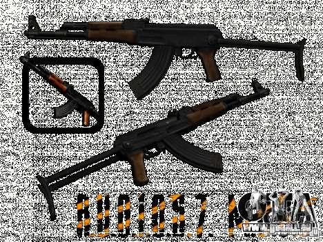 AKC - 47 HD für GTA San Andreas