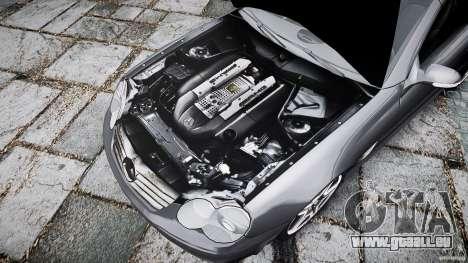 Mercedes Benz SL65 AMG pour GTA 4 est une vue de dessous