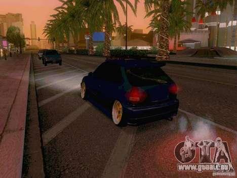 Honda Civic JDM Hatch für GTA San Andreas Seitenansicht