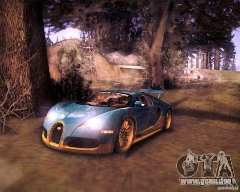Bugatti Veyron Super Sport pour GTA San Andreas laissé vue