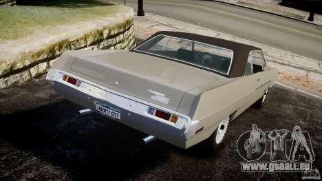 Plymouth Scamp 1971 für GTA 4 hinten links Ansicht