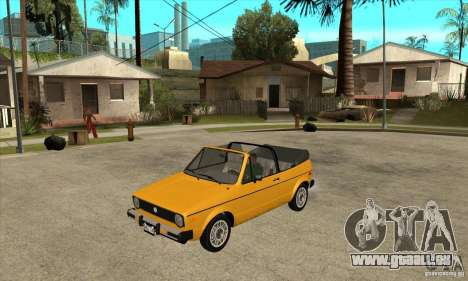 Volkswagen Rabbit Convertible für GTA San Andreas