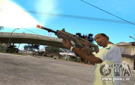 MSBS Radon pour GTA San Andreas quatrième écran