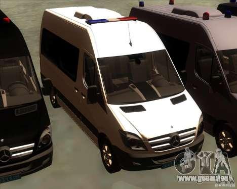 Mercedes-Benz Sprinter 311CDi für GTA San Andreas Seitenansicht