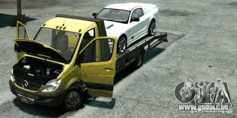 Mercedes-Benz Sprinter 3500 pour GTA 4 est un droit