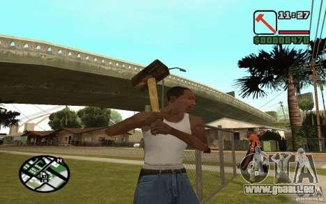 Marteau et la faucille pour GTA San Andreas cinquième écran