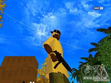 New Weapon Pack pour GTA San Andreas neuvième écran