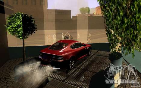 Aston Martin Virage V1.0 für GTA San Andreas Unteransicht